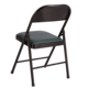 modern fancy design metal folding chair