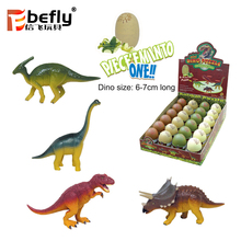 Promotional Jurassic world set 3d plastic mini dinosaur puzzle in egg