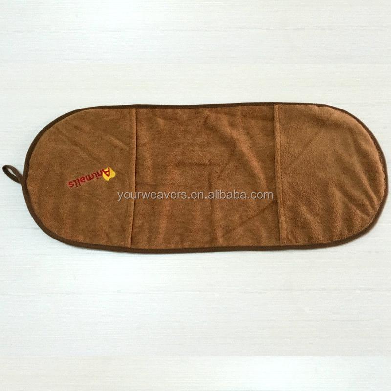 Microfiber Pet Dog Bath Towel Dry Bag