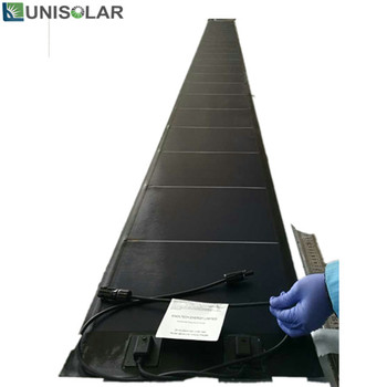 Multi Junction Amorphous Flexible Solar Panel With Back