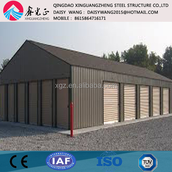 Prefabricated steel structure self storage units building construction & Prefabricated Steel Structure Self Storage Units Building ...