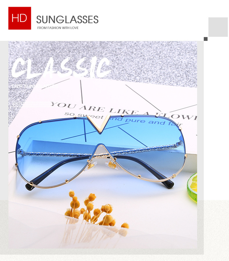 Fuqian female designer sunglasses customized for sport-5