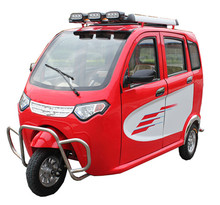 tuk tuk electric closed the tricycle three wheeler for passenger