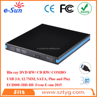Brand new External USB 3.0 Blue Ray DVDRW/ DVD COMBO / CD RW Drive sata hard drives