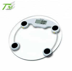 Round weight scale machine bathroom scale electronic personal body scale