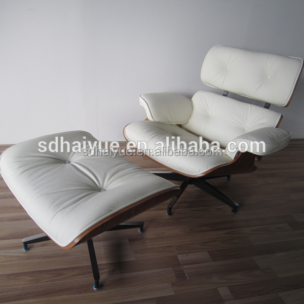 Crazy Sale High Quality White Genuine Leather Charles Emes