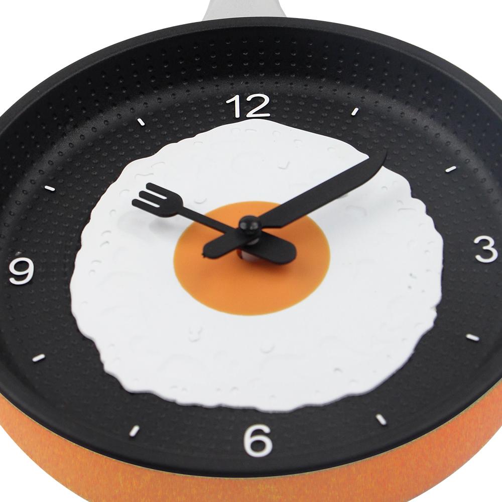 Diseño Encantador Frito Pan Reloj De Cocina De Plástico Reloj De Pared Para  La Decoración De La Casa De Cuarzo Relojes De Tiempo Horloge Murale - Buy  ...