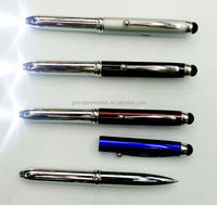 Promotional ballpoint pen with led light