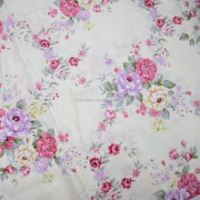 Brand HY flowers design cotton fabric pima cotton fabric custom print cotton fabric wholesale