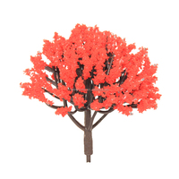 3cm-15cm height miniature architectural model tree for sale with different color