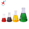 handblown wide neck pyrex borosilicate glass conical flask with printing/laboratory glassware