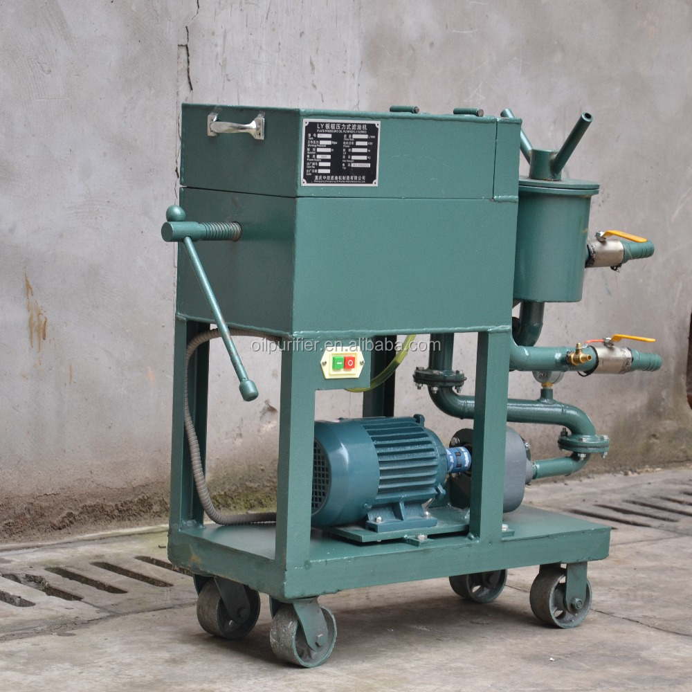 Series LY Economical Board Pressure Oil Purifier