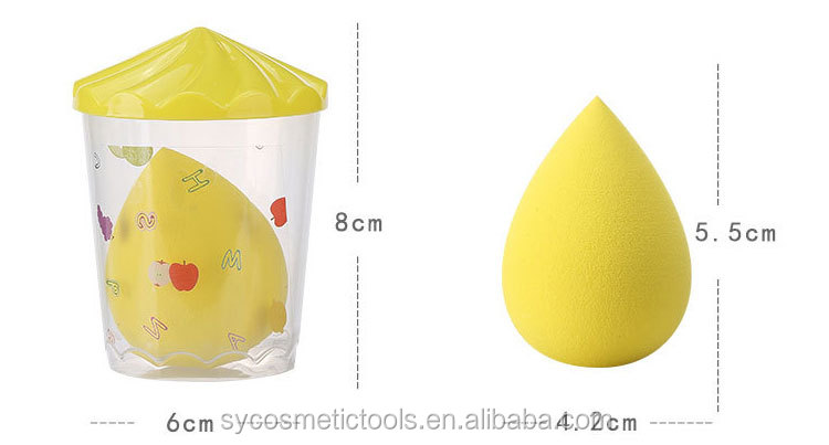 Wholesale private label beauty sponge cosmetic blender makeup sponge