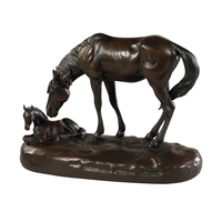 High Quality Wholesale Custom Cheap hot sales bronze horse statue factory decorations for house with great price