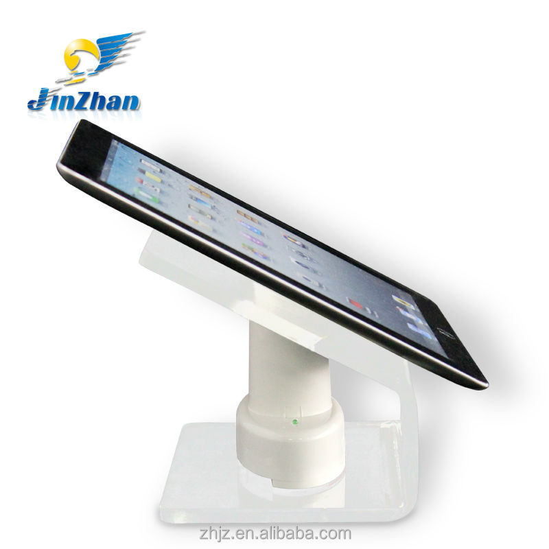 charged display devices tablet table standing pc security device
