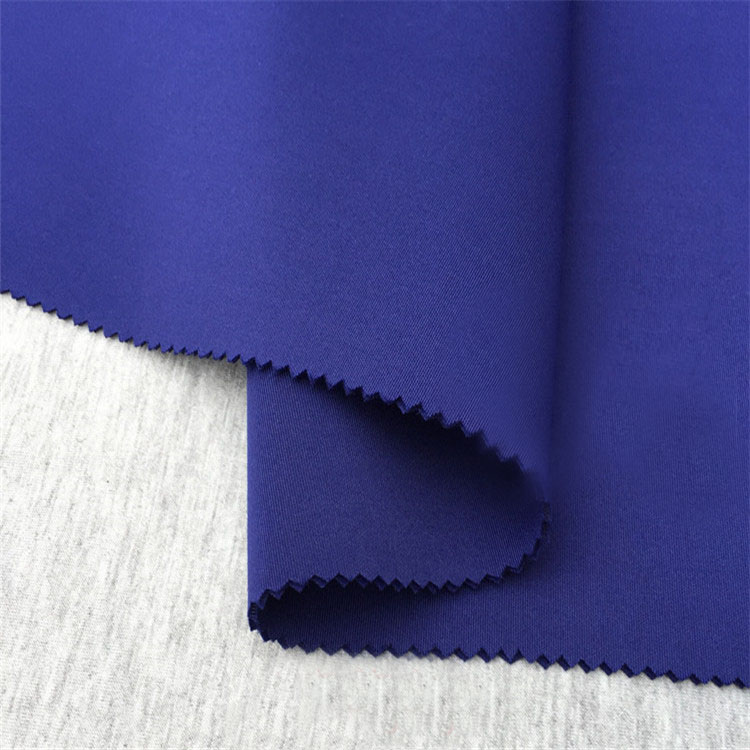 100 polyester dyed scuba textiles knit air layer fabric