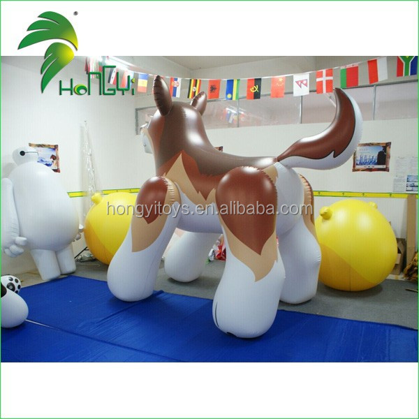 Giant Cool Inflatable Wolf Cartoon