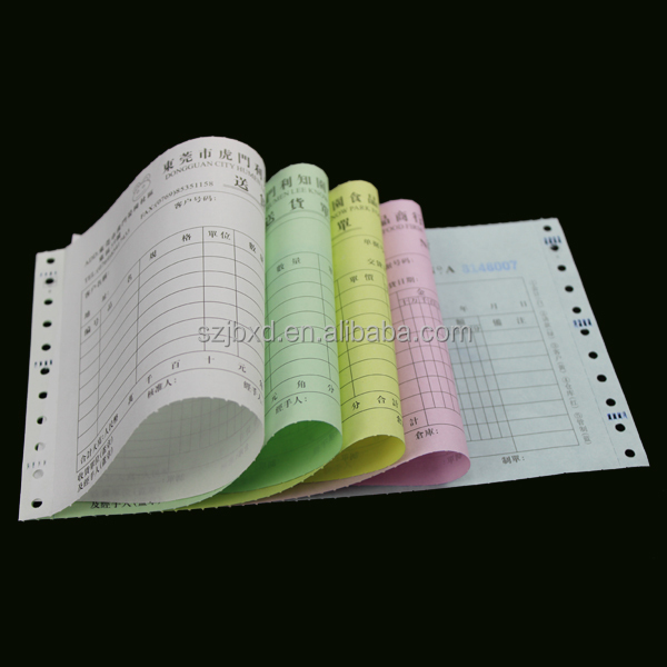 Custom Triplicate NCR/Carbonless Invoice Book Printing,&Sample Invoice