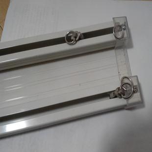 aluminum track single pole double bending mute slide rail curtain holder l u bend electric in. Black Bedroom Furniture Sets. Home Design Ideas