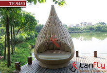 rattan nestrest with Outdoor woven wicker water drop nest