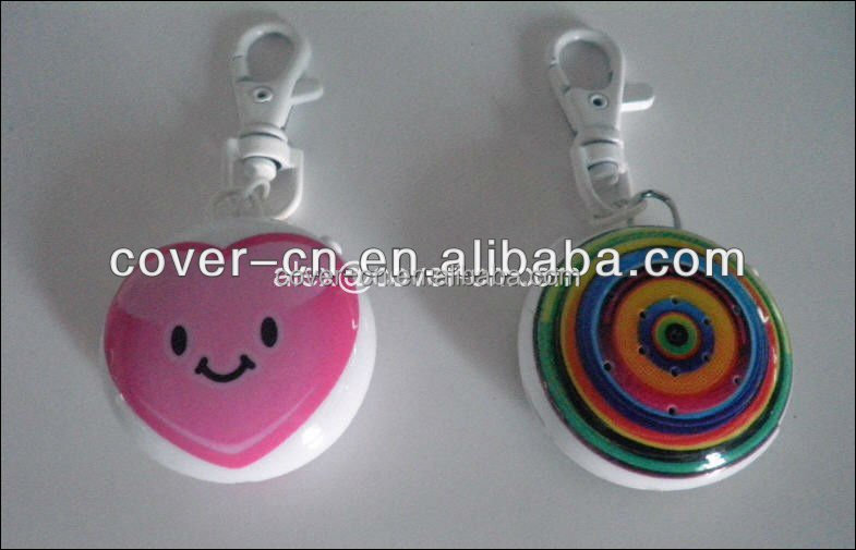 2016 Custom souvenir key chain/customized design /radio sound key chain for promotion