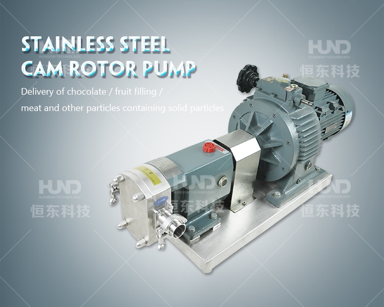 Small Mud Slurry sludge vacuum rotary lobe pump
