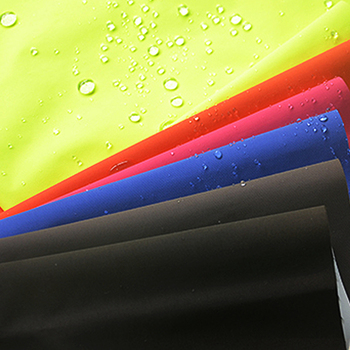 Fluorescent nylon taslan fabric for police