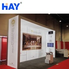 Exhibition Portable Booth Exhibition Booth Display Backlight Exhibition Lightbox Portable Tradeshow Booth Display
