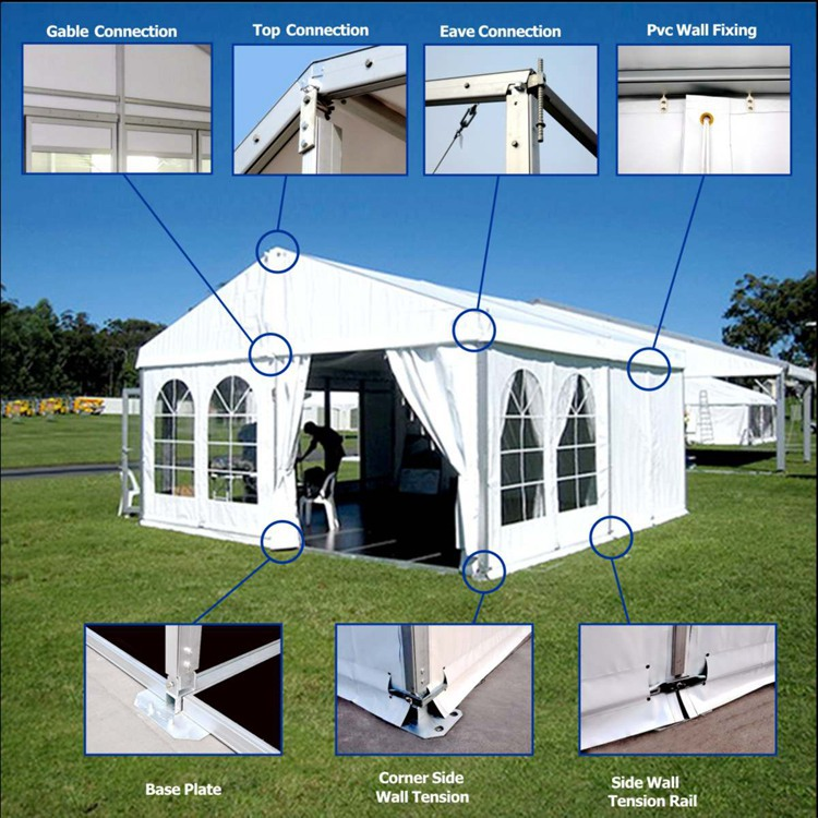 Used Party Tents For Sale >> Large White Used Wedding Marquee Party Tent For Sale Buy Wedding