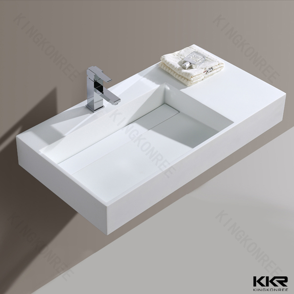 Different Designs Solid Surface Acrylic Molded Bathroom Sinks ...