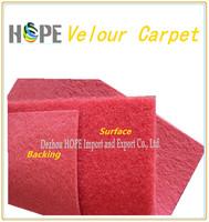 100% Nonwoven Velour Surface Carpet For Restaurant - Buy Nonwoven ...