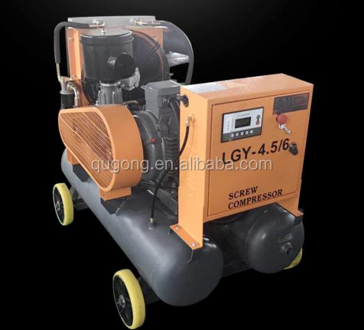 Voor mijnbouw goedkope kleine beweegbare elektrische soort schroef compressor met KAISHAN merk