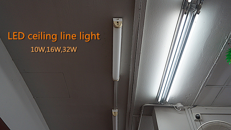 32w New Energy Saving Ceiling 1200mm 1500mm Wall Washer Light ...