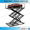 Discount price scissor portable car lift hydraulic car lifting equipment price