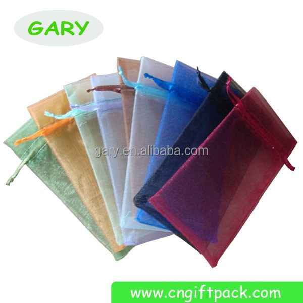HOT SALE ! Plain Organza Gift Bag, Organza Wine Bottle Wrapping Bag