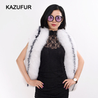 Long Pattern Women New Style Real Natural Fox Fur Scarf