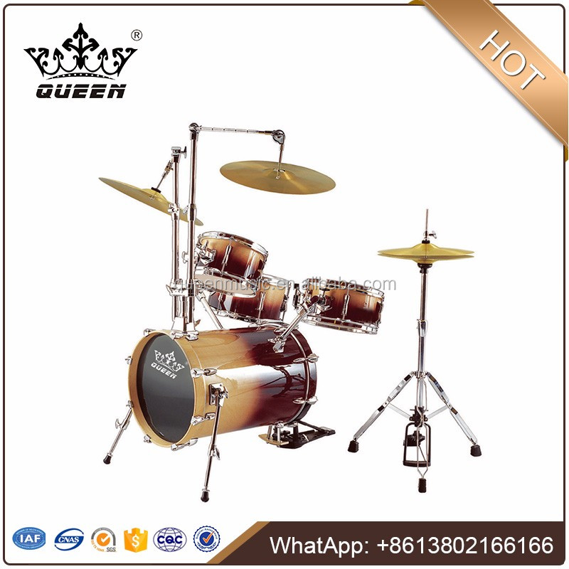 High-Grade 4-pcs Drum Set(Maple)