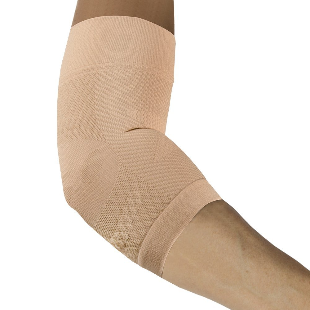 4a724e31c4 Get Quotations · OrthoSleeve ES6 Elbow Bracing Sleeve (One Sleeve) relieves  Tennis and Golfer's Elbow pain,
