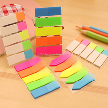 Free Shipping by DHL/FEDEX Fresh Rainbow Color cute sticky notes