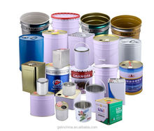 metal packaging pails, tin can