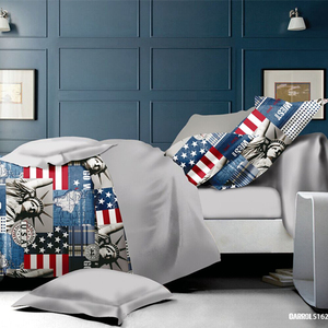 KOSMOS best quality bed linen bedding set 100% polyester bed sheets  importors in usa