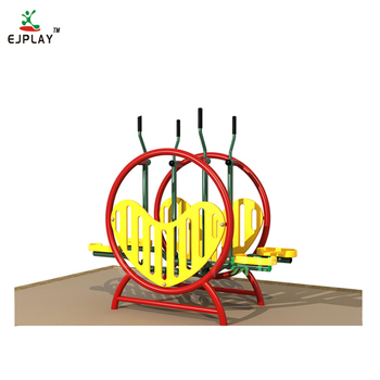 China Supplier Heart-shaped Park Step Machine Outdoor Fitness Gym Equipment