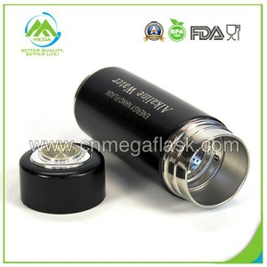 Black Stainless Steel Alkaline Water Energy Nano Flask