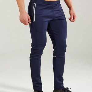 Men sportswear Apparel reflective tape Elastic waistband Gym chino Wholesale Sweatpants premium jogger pants