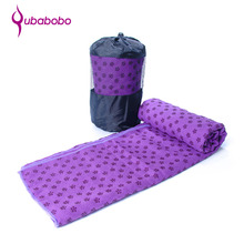Hot Yoga Fitness Exercise Ultra Absorbent Pilates Yoga Towel Silicon Dots