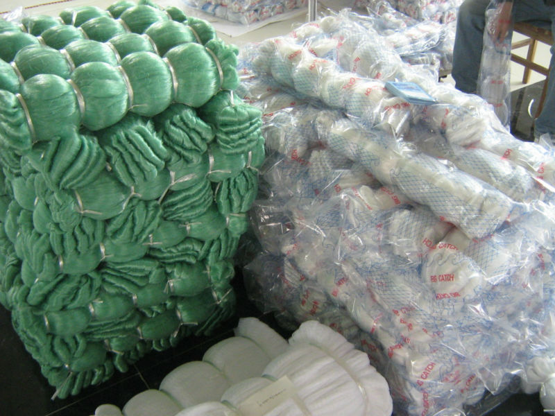 Used commercial monofilament fishing nets buy used for Commercial fishing nets for sale