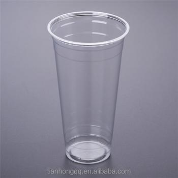 Manufacturers Custom 8oz 10oz 12oz 20oz Disposable Clear Plastic