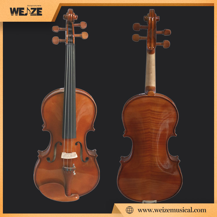 Germany style Artful Flame Violin For Student model