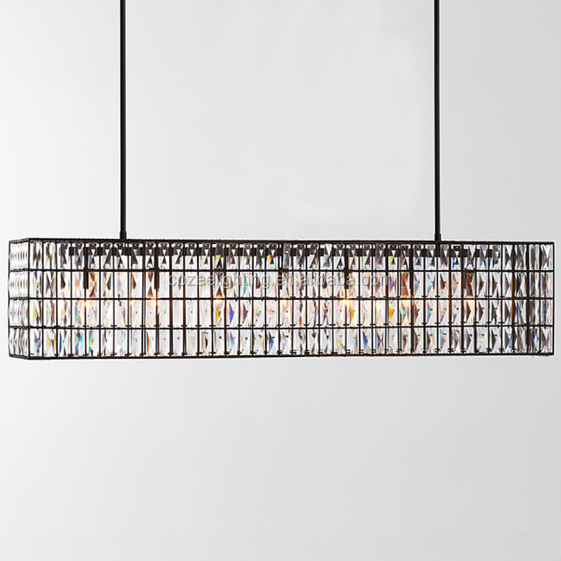 SUPER DEAL Modern Vintage Crystal Chandelier Pendant Light CZ2586S