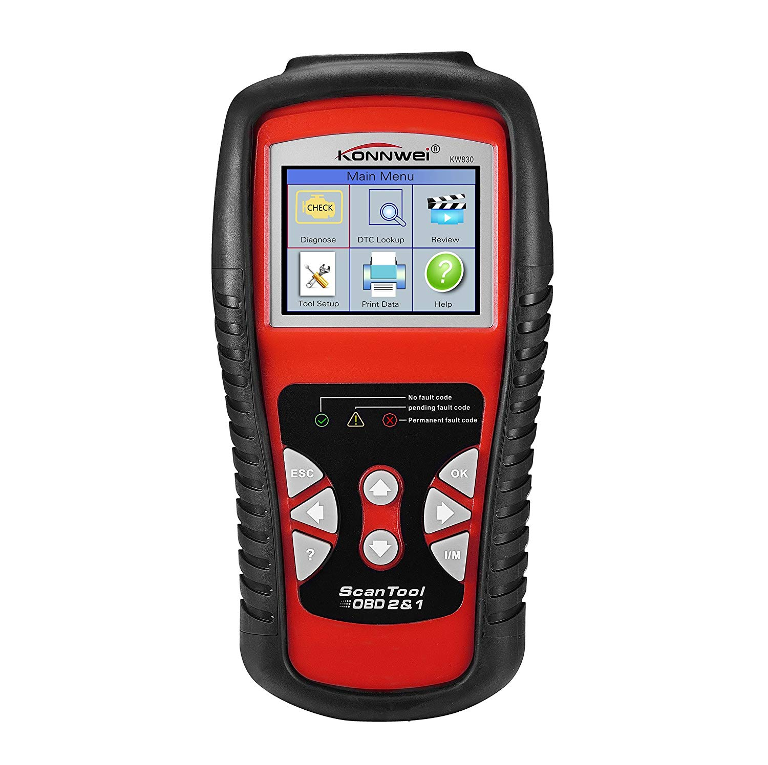 Get Quotations · Etbotu KW830 Car Diagnosis Instrument Auto Scanner  Automotive Fault Code Reader (Can Only Detect 12V